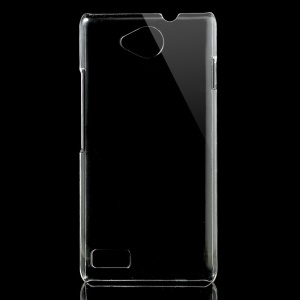 Clear Crystal Hard Shell Case Cover for ZTE Kis 3 Max Blade G Lux