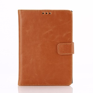 Retro Style Leather Shell for BlackBerry Passport Q30 w/ Stand - Brown