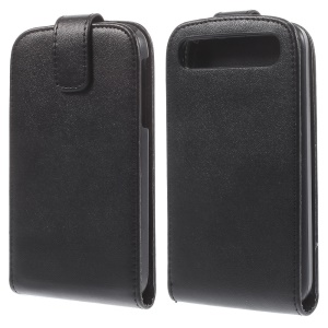 Magnetic Flip Vertical Leather Case for Blackberry Classic Q20