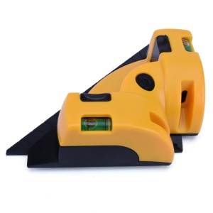 90 Degree Right Angle Laser Level with Suction Cups