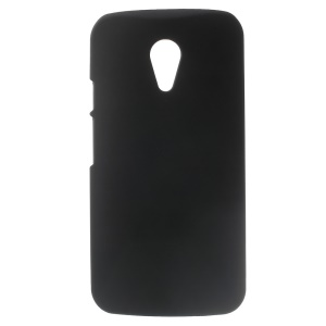 Black Rubberized Plastic Hard Case for Motorola Moto G2 G (2nd gen) XT1063 XT1072 / Dual SIM