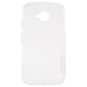 NILLKIN 0.6mm Nature TPU Case for Motorola Moto E2 XT1505 XT1511 - White