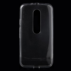 Glossy TPU Gel Case for Motorola Moto G 3rd Gen XT1541 XT1543 - Transparent