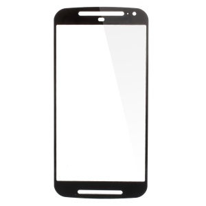OEM Front Outer Screen Glass Lens for Motorola Moto G2 (2nd Gen) XT1068 - Black