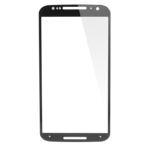 Front Screen Glass Lens for Motorala X + 1 / X2 - Black