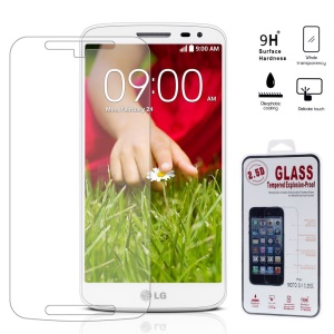 0.25mm Explosion-proof Tempered Glass Screen Film for Motorola Moto G2 G (2nd gen) / Dual SIM (Arc Edge)