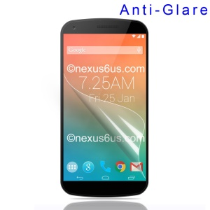 Matte Anti-glare Screen Protector Film for Motorola Nexus 6 XT1100 XT1103