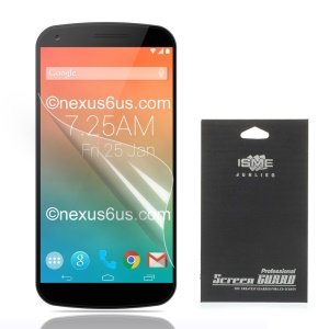 Ultra Clear LCD Screen Protector for Motorola Nexus 6 XT1100 XT1103 (With Black Package)