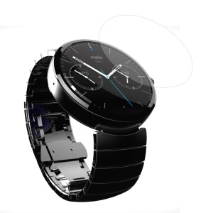 0.3mm Curve Tempered Glass Screen Protector for Moto 360 Smart Watch