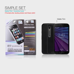 NILLKIN Anti-scratch Matte Screen Protector for Motorola Moto G 3rd Gen XT1541 XT1543