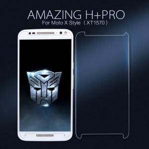 NILLKIN for Motorola Moto X Style Amazing H+PRO Tempered Glass Screen Film Nanometer Anti-Explosion