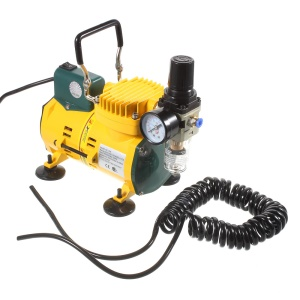 YEHONG 110V Mini Air Compressor with Adjustable Pressure AC-108B