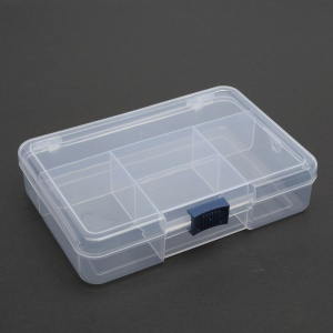 BEST 5 Slots Small Parts Component Storage Box Case Organizer, Size: 120 x 70mm