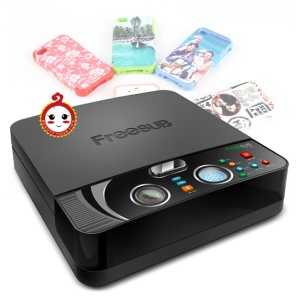 ST2030 Mini A4 3D Vacuum Sublimation Heat Transfer Printing Machine for Mobile Phone Cases
