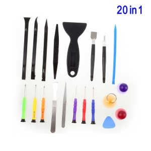 20-In-1 Cellphone Opening Repair Tool Kit for iPhone Samsung Huawei