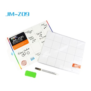 JAKEMY JM-Z09 Writing Magnetic Parts Absorption Mat with Marker Pen, Size: 20 x 25cm