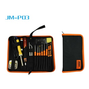 JAKEMY JM-P03 17-In-1 Primary DIY Welding Tool Set with 30W Electric Solder