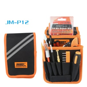 JAKEMY JM-P12 83-in-1 Precision Screwdriver Opening Tool Crowbar Repair Tool Set with Canvas Bag