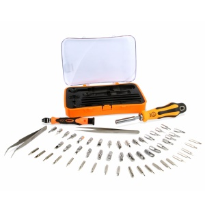JAKEMY JM-6092B 58-in-1 Portable Multi-function Magnetic Screwdriver Bit Set Hand Tool