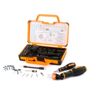 JAKEMY JM-6111 69-in-1 Precision Screwdriver Hardware Repair Open Tools Demolition Kit