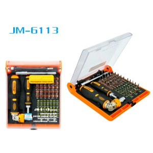 JAKEMY JM-6113 72-in-1 Multi-purpose Precision Screwdriver Set Hardware Tool
