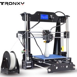 TRONXY X8 Acrylic Series LCD Screen Display 3D DIY Printer, Print Size 50 x 48 x 40cm - EU Plug