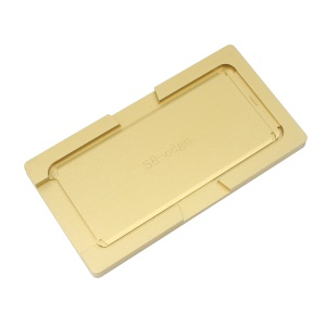 Metal Curved Screen Laminating Aligning Mould for Samsung Galaxy S8 SM-G950 - Gold Color