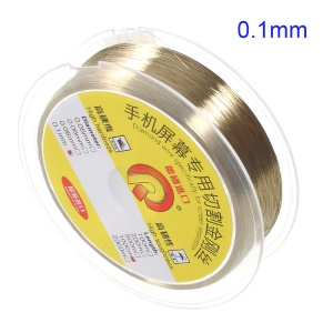 1000m Diamante Wire for Mobile Phone LCD Screen Separation - Diamater: 0.1mm