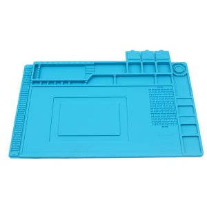 Soldering Station Mat Heat Insulation Silicone Pad Maintenance Platform for Phone Repair