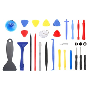 JF-8141 26-in-1 Opening Pry Screwdriver Repair Tool Kit for iPhone Samsung Huawei