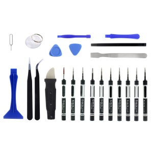 JF-8138 Professional 22-in-1 Screwdriver Pry Tool Disassemble Opening Repair Set