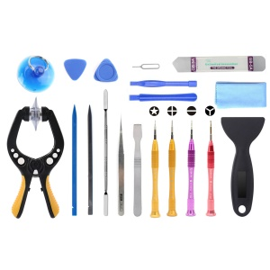 JF-8131 19-in-1 Smartphones Tablets Opening Repair Tool Kit
