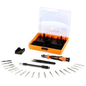 JAKEMY JM-8133 23-in-1 Deep Screw Hole Screwdriver Set Repair Open Tools Demolition Kit