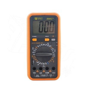 BEST BST-890C+ Portable Handheld Measure Digital Multimeter with LCD Large Screen