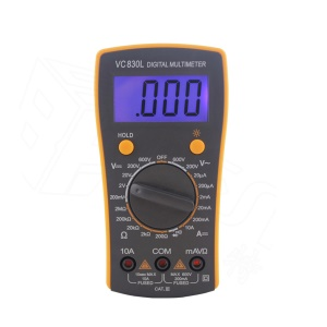 BEST BST-VC830L Electric Handheld Tester Digital Multimeter with LCD Display