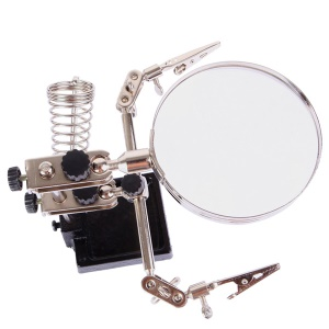 BEST BST-268Z 5X Electronic Maintenance Fixed Magnifying Glass with Clips