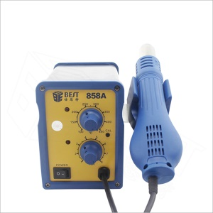 BEST BST-858A Lead-free Hot Air Soldering Gun SMD Rework Station - 110V