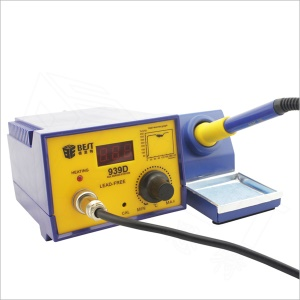 BEST BST-939D Lead Free Intelligent Anti-static Welding Station with LED Display - 110V