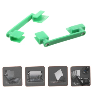 1 Pair of 360-degree Rotary Universal Holders Repairing Tool for Mobile Phone LCD Screen - Random Color