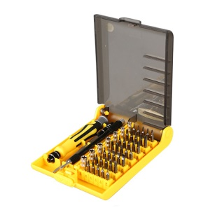 KAISI 45 in 1 Multi-function Precision Screwdriver Repair Tools with Extension Rod