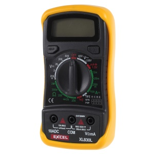 EXCEL XL830L LCD Digital Multimeter Tester