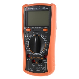 VICTOR VC890C+ True RMS Digital DMM Multimeter