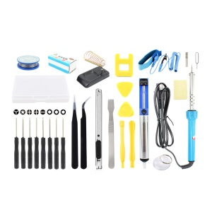 JF-8167 27-in-1 Professional Soldering Screwdrivers Tweezers Repair Tool Kit