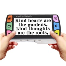 FD43 4.3 inch Portable Digital Video Magnifier Reading Aid for Low Vision - EU Plug