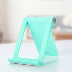 BENKS L18 Portable Angle Adjustable Phone Tablet PC Stand Holder - Cyan