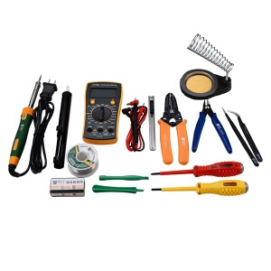 BEST BST-113 16Pcs Household Multi-functional Tools Kit Repair Solder Multimeter