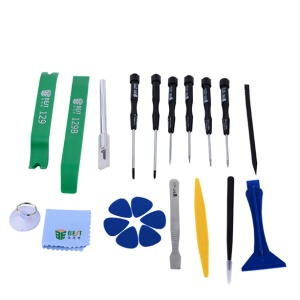 BEST BST-112 22Pcs Cell Phone Repair Kit Opening Pry Tool Set