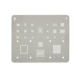 IC BGA Rework Reballing Stencil Templates for iPhone 6 4.7-inch / 6 Plus 5.5 inch
