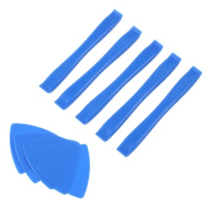 10-in-1 5PCS Plastic Pry Bars + 5PCS Triangle Pry Paddles Opening Pry Tool Kit