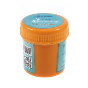 SUNSHINE SP-X 50g Low temperature Soldering Tin Lead Free Solder Paste 158 Degree for iPhone X Middle Layer